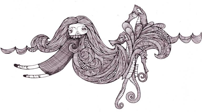seahorse sea
